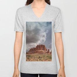Moab - Red Rocks Country Unisex V-Neck