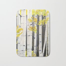 Birch Tree Bath Mat
