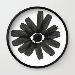 See no evil - Abstract Wall Clock