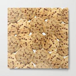 Homemade Chocolate Chip Cookies Metal Print