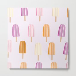 Ice Lolly - Popsicle Metal Print