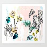 summer.love Art Print