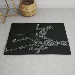 Skeleton Sex #2 Rug