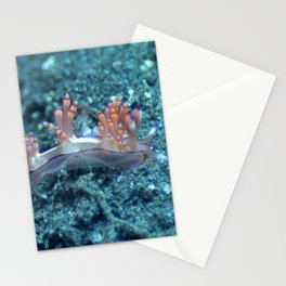 Flabellina in the muck Stationery Cards