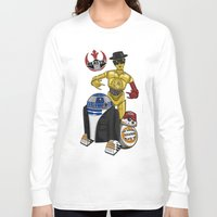 beastie boys Long Sleeve T-shirts featuring Beastie Droids by JVZ Designs