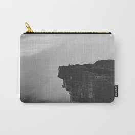 The Cliff (Black and White) Carry-All Pouch
