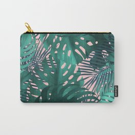Tropical plants pattern Carry-All Pouch