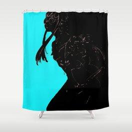 """Futaba Sakura """"Oracle"""" from Persna 5 Shower Curtain"""