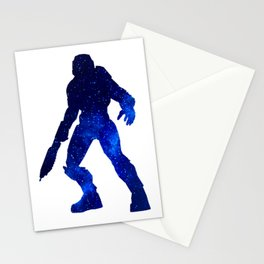 Master Chief Stars Stationery Cards