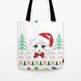 Funny Ugly Christmas Sweater Tote Bag