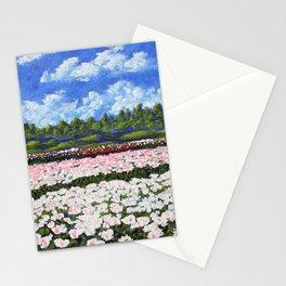 Field of Flowers by Mike Kraus - - home decor interiors peonies peony philadelphia glen mills pretty Stationery Cards