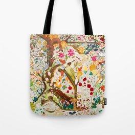 Fantasy Jacobean Forest Tote Bag