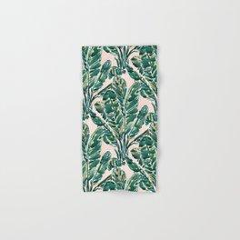 BIG FEELINGS Banana Leaf Tropical Hand & Bath Towel