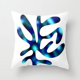 Seaweed Glow Ocean Throw Pillow