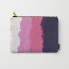 Abstract Sunset Sky Blush Carry-All Pouch