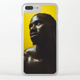 Negro Clear iPhone Case