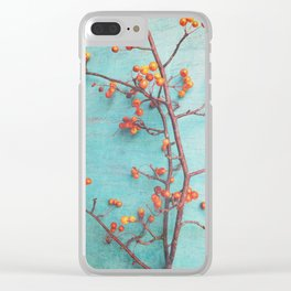 She Hung Her Dreams on Branches Clear iPhone Case