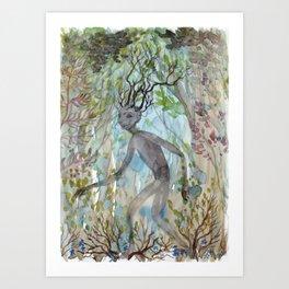 Forest Guardian Art Print