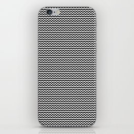 Chevron Black iPhone Skin