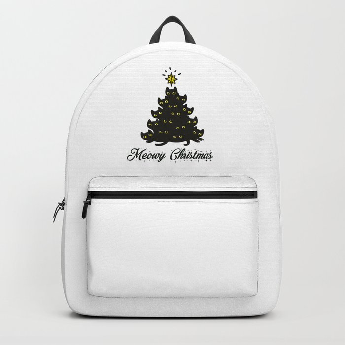 Meowy Christmas Backpack