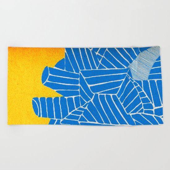 - be nuclear - Beach Towel