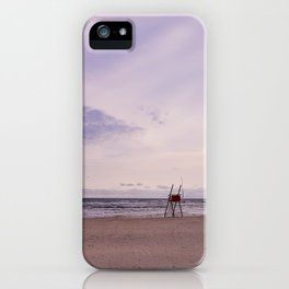 Winter On The Seaside II iPhone Case