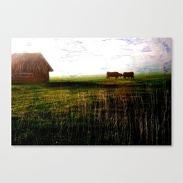 Cows of Bavaria II Canvas Print