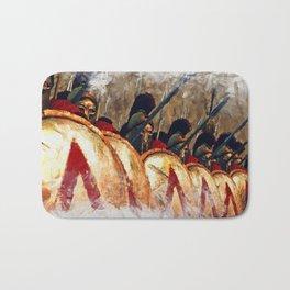 Spartan Army at War Bath Mat