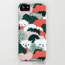 The Vegetable Lamb of Tartary iPhone Case