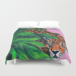 Jungle cat Duvet Cover