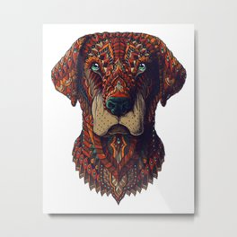 Labrador (Color Version) Metal Print