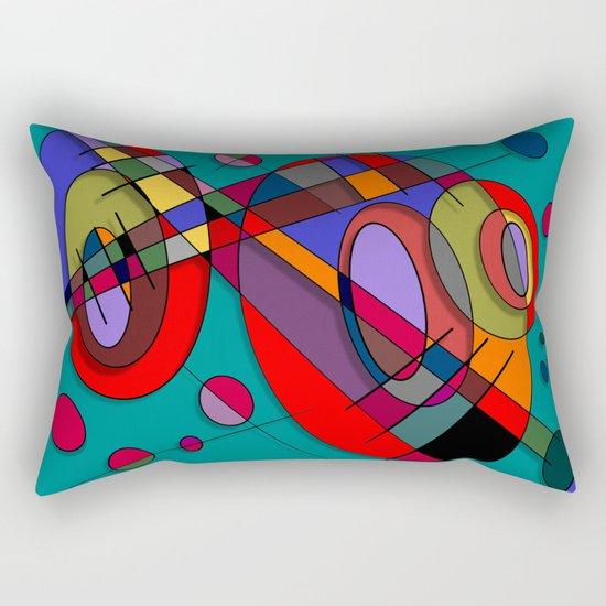 Abstract #50 Rectangular Pillow