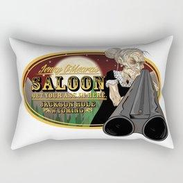 Jenny O'Meara's Saloon Rectangular Pillow