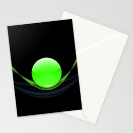 Green Ball Stationery Cards