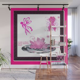 BC Know The Risk Butterfly Wall Mural