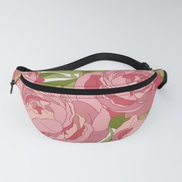 Peony Bouquet Fanny Pack