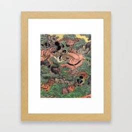 Mu Guai and the Tiger's Eye, Panel 6 Framed Art Print