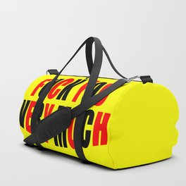 fuck you very much funny quote Duffle Bag