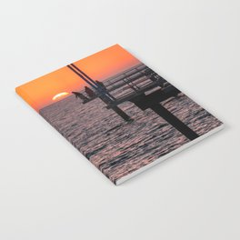 Sunset Fishing Notebook