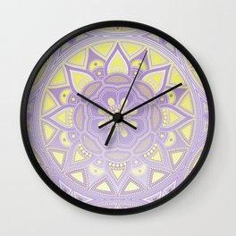 Mandala my new creation XVII Wall Clock