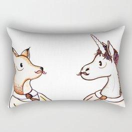 Master Fox Rectangular Pillow
