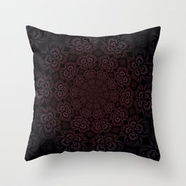 Pure Evil Pansies - Fall 2018 Throw Pillow