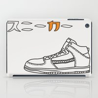 sneaker iPad Cases featuring Sneaker by YTRKMR