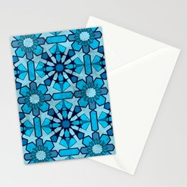 Ocean Mosaic Stationery Cards