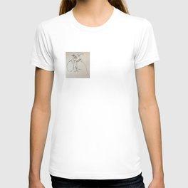 Blind Contour Subject T-shirt
