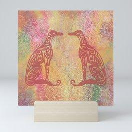 A Greyhound for All Seasons - Summer Mini Art Print