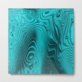 Whirlpool Waters Metal Print