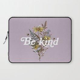 Be Kind Wildflowers Laptop Sleeve