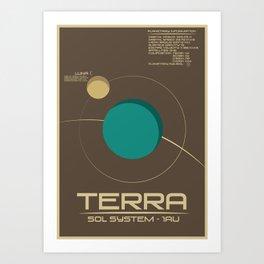 Sol: Terra Art Print