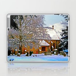 Warmth of a Church in Winter.  Laptop & iPad Skin
